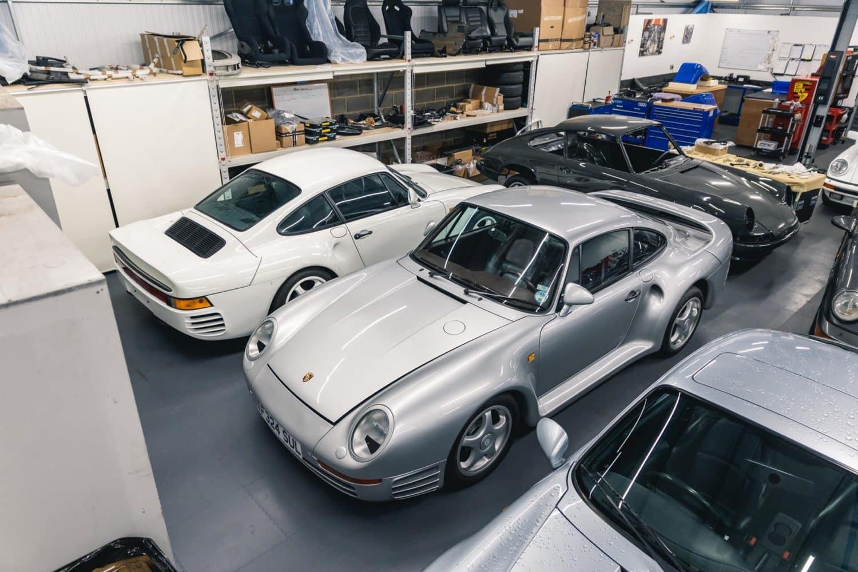 959 in RPM restoration workshop
