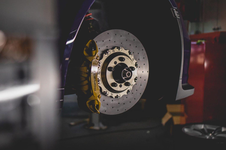 991.1 gt3rs carbon brake disc