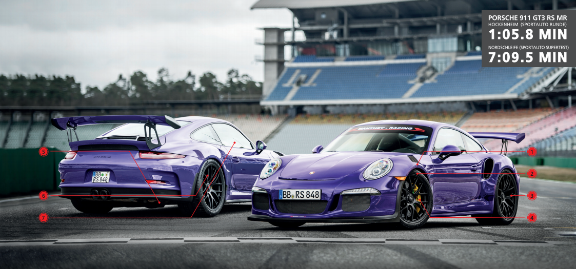 991.1 gt3rs options