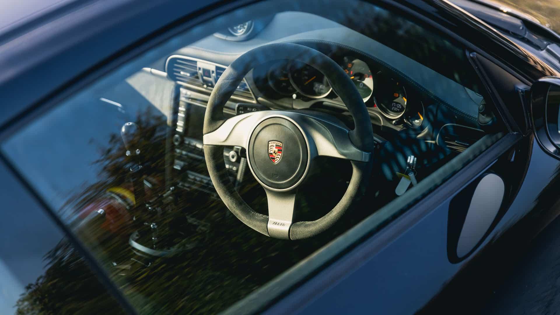 997 GT3 Clubsport Interior