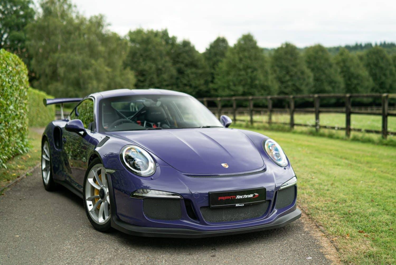 RPM Technik Porsche GT3RS Purple Final Image 105