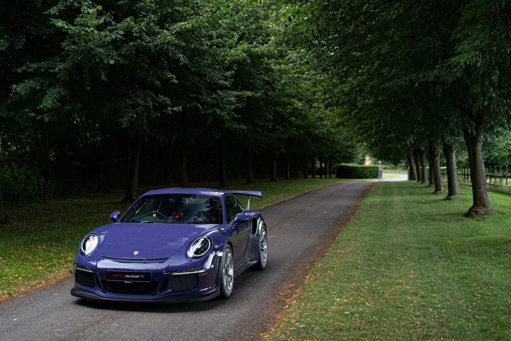 RPM Technik Porsche GT3RS Purple Final Image 138