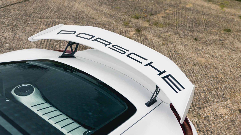 White Cayman GT4 15 1
