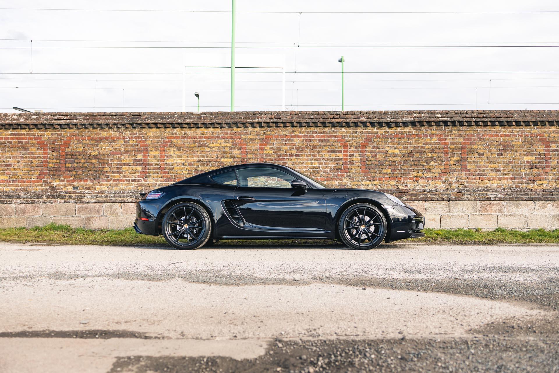 black-cayman-718-side-profile