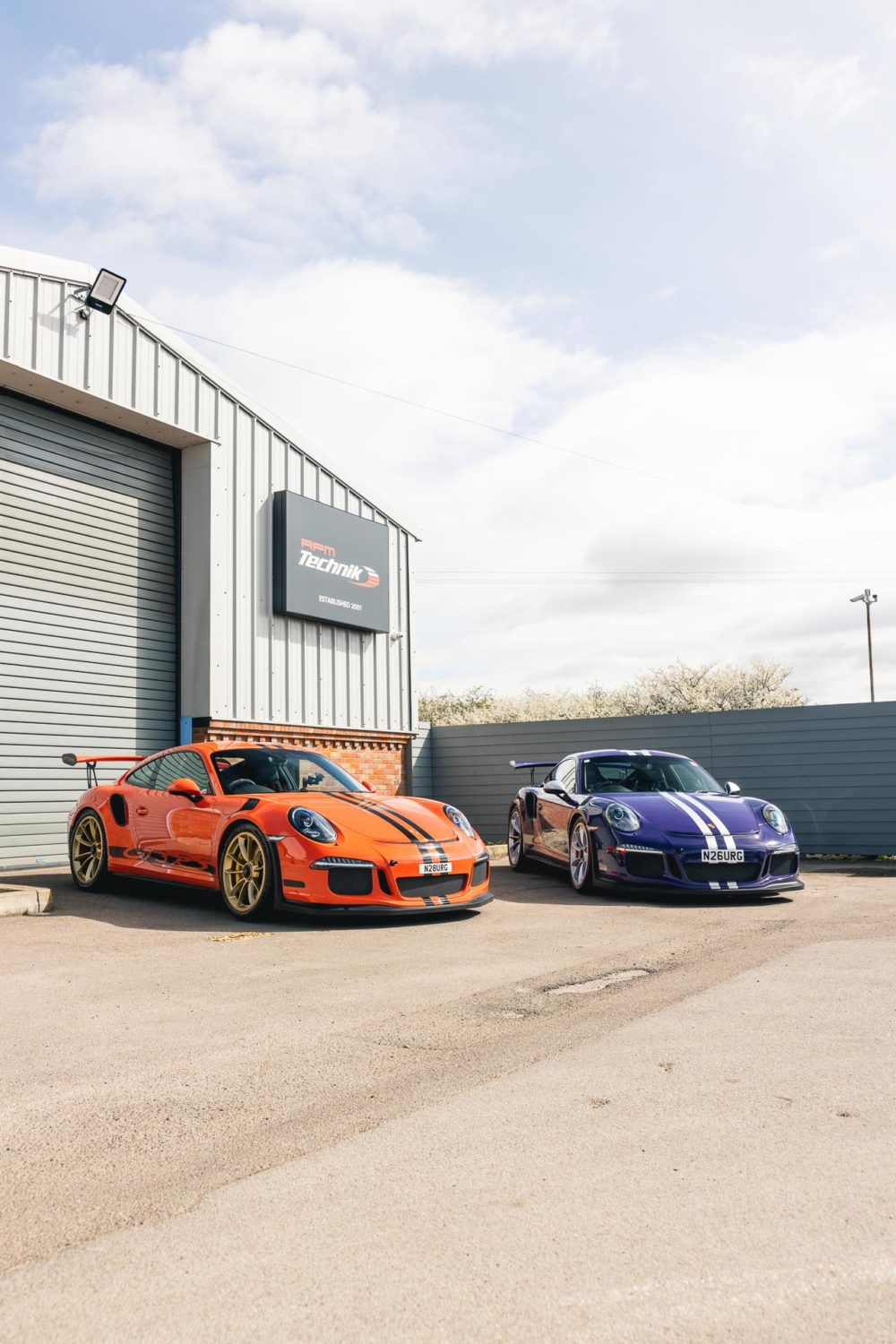 gt3rs track stormers at RPM technik