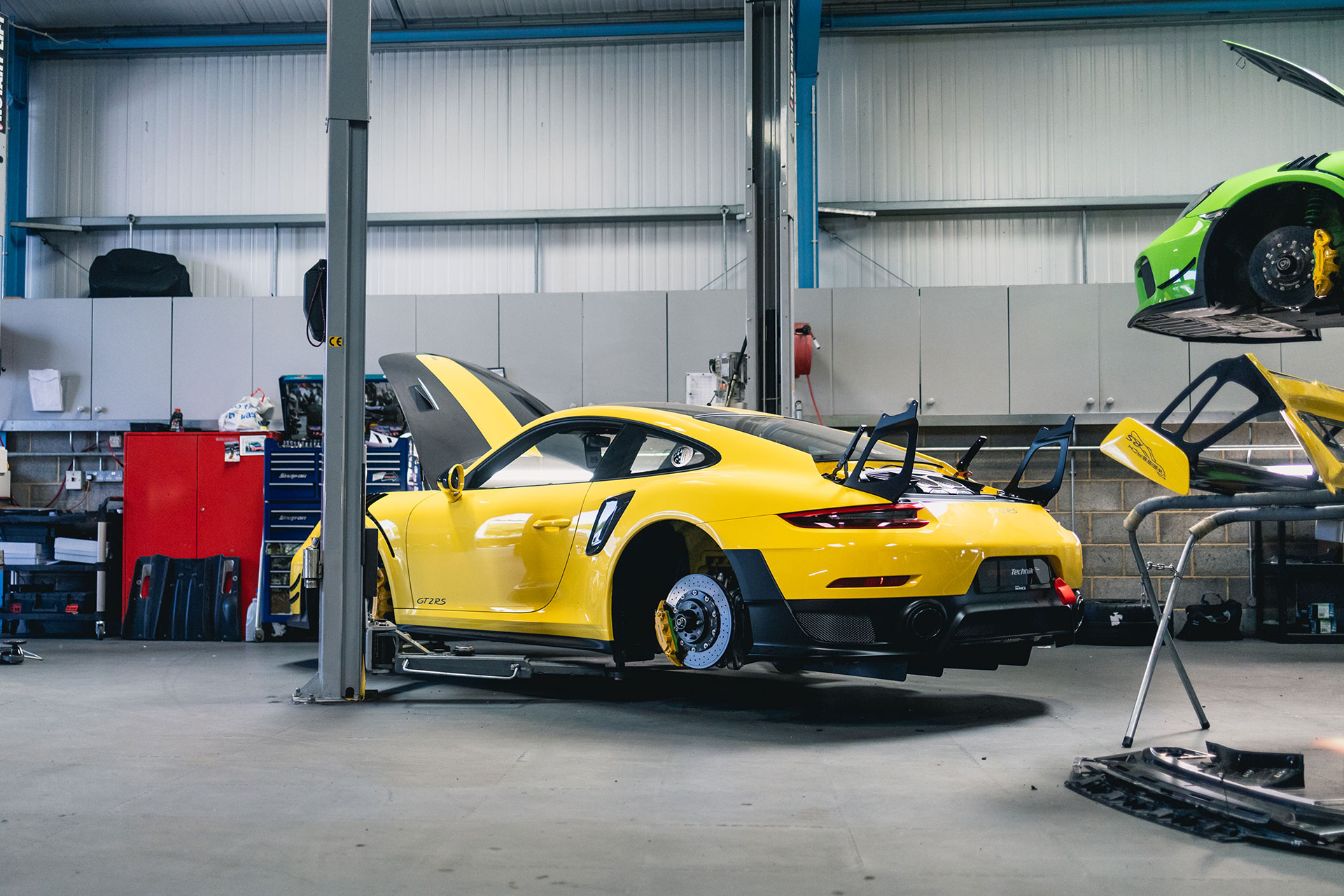 manthey racing gt2rs 09