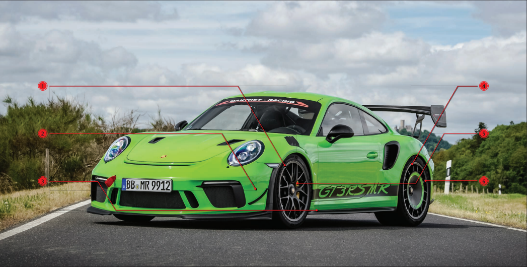 manthey racing gt3rs options