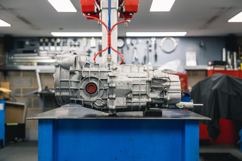porsche 964 transmission conversion