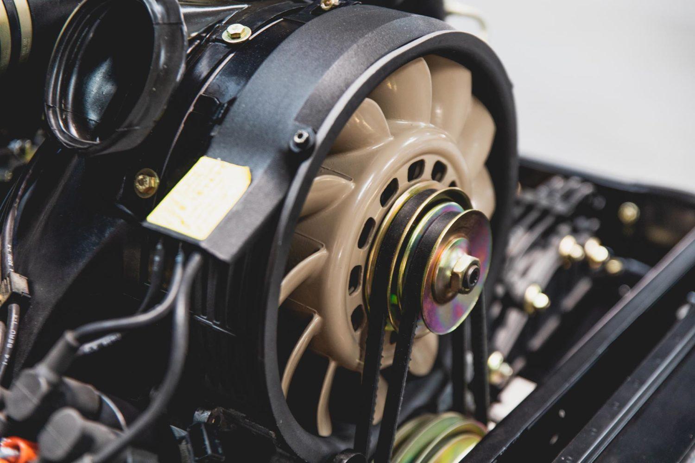 porsche aircooled engine fan