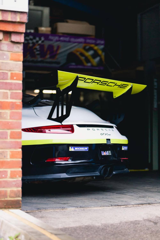 porsche gt3 cup car at RPM